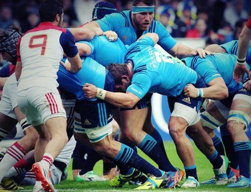 Ci sono gli All Blacks contro l'Italia.Col rugby anche un'azienda salernitana.
