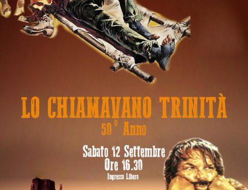 LO CHIAMAVANO TRINITÀ ROMA @ OASI PARKSabato 12 Settembre