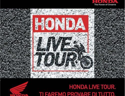 HONDA LIVE TOUR30 APRILE – 2 MAGGIOFROSINONE