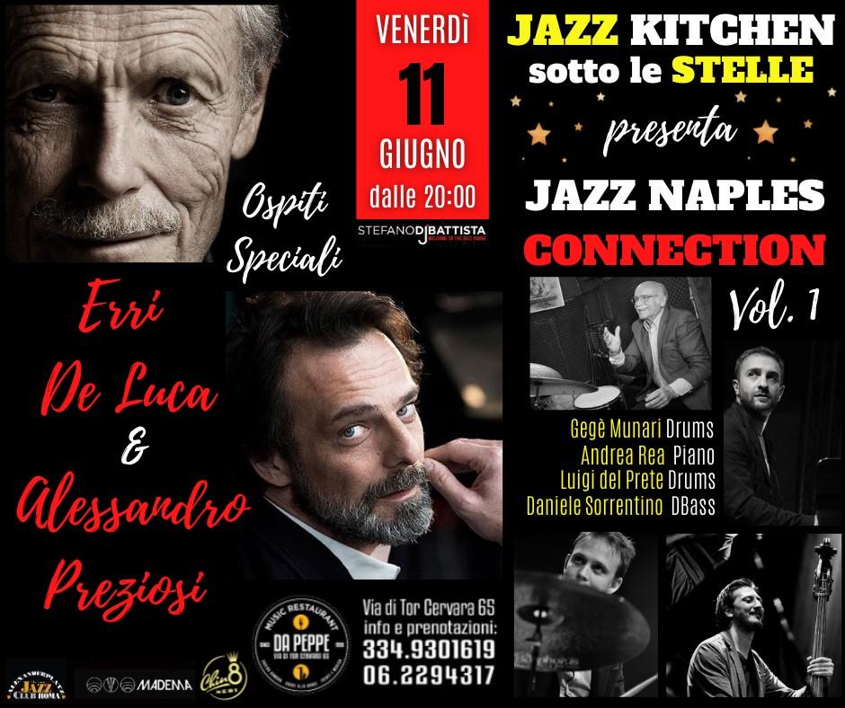 Jazz Kitchen sotto le stelle,Jazz House byStefano di Battista11-12-13 GIUGNOROMA