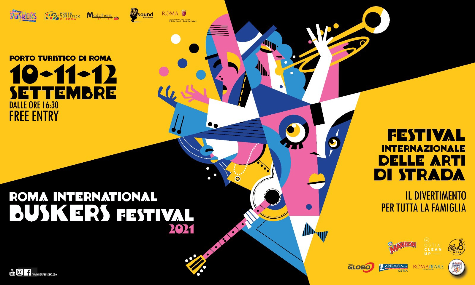 BUSKERS FESTIVAL 10-12 SETTEMBREOSTIA